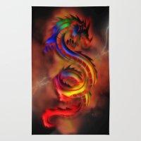 Dragon Two Rug