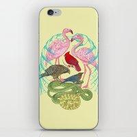 Wild Anatomy II iPhone & iPod Skin