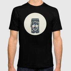 Yashica Black SMALL Mens Fitted Tee