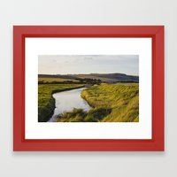 Cuckmere River Framed Art Print