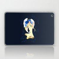 Blue Hair Angel Laptop & iPad Skin