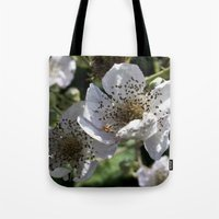 Blackberry Blossom Tote Bag