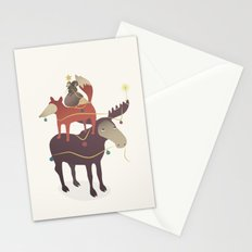 X-Moose Tree Stationery Cards