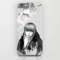 iPhone & iPod Case featuring Swan Love by Ariana Perez