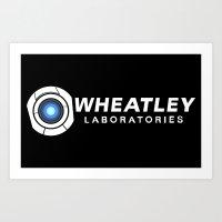 Wheatley Laboratories Art Print