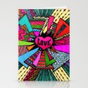 Power of Love...2 Stationery Cards