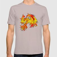 Phoenix Mens Fitted Tee Cinder SMALL