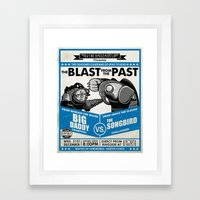 The Blast from the Past Framed Art Print