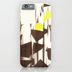 abstract blurred figures iPhone 6s Slim Case