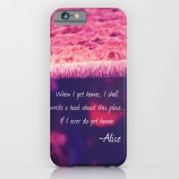 alice in wonderland iPhone & iPod Cases featuring Wonderland by Josrick