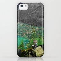 iPhone 5c Cases featuring Experiment am Berg 5 by Marko Köppe