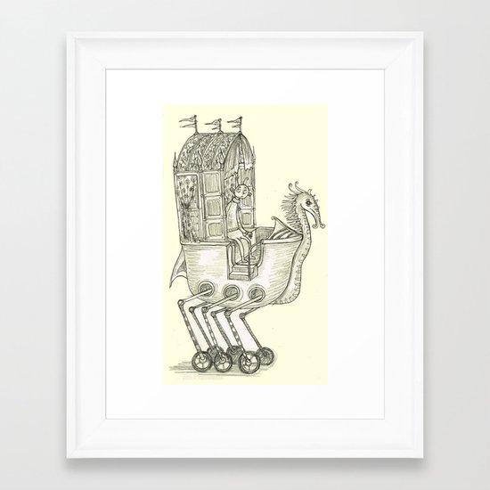 Strange Land Framed Art Print