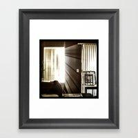 Let The Light Shine Thro… Framed Art Print