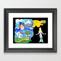 Lucy In The Sky With Dia… Framed Art Print