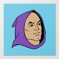 He Man Hoodie Canvas Print