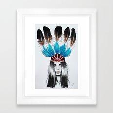 Enola Framed Art Print