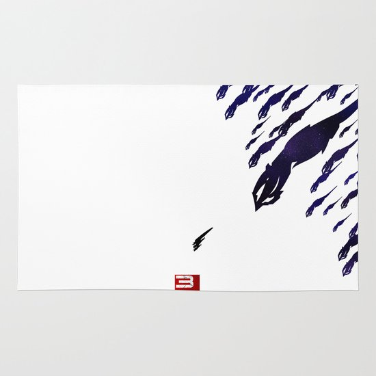Mass Effect 3 (w/quote) Area & Throw Rug