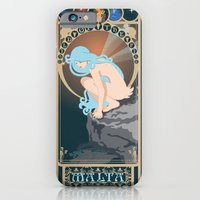 iPhone & iPod Case featuring Malta Nouveau -  Sea Prince and the Fire Child by CaptainLaserBeam