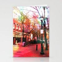 Salem Lights Stationery Cards