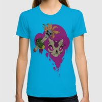 #^$&ing Voodoo Magic Womens Fitted Tee Teal SMALL