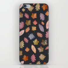 october leaves iPhone & iPod Skin