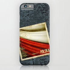 STICKER OF POLAND flag iPhone 6s Slim Case