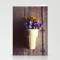 Flower Cone III Stationery Cards