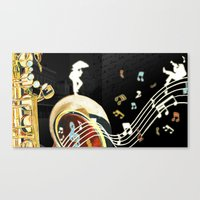 A Soulful City Canvas Print