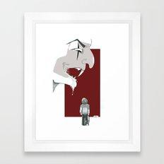 il fotografo Framed Art Print