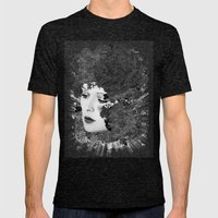 BLISS Mens Fitted Tee Tri-Black SMALL