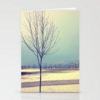 Okanagan Winter Blues Stationery Cards