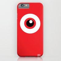 iPhone & iPod Case featuring EYE SEE by Alberto Corradi