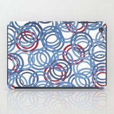 Blue Discs iPad Case