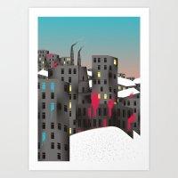 Playground (-20 °C Vers… Art Print