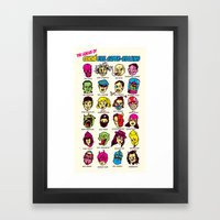 The League Of Cliché Ev… Framed Art Print
