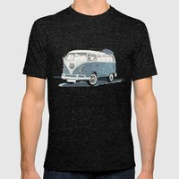 Volkswagen Transporter Mens Fitted Tee Tri-Black SMALL