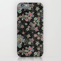 iPhone & iPod Case featuring My small folk flowers.  by Juliagrifol designs