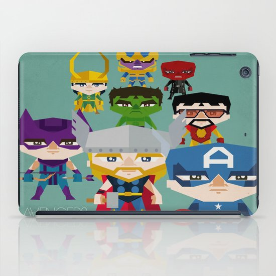 avengers 2 fan art iPad Case