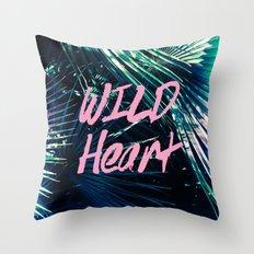 Wild at Heart I Throw Pillow