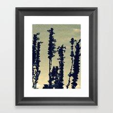 Paper Lavender Framed Art Print