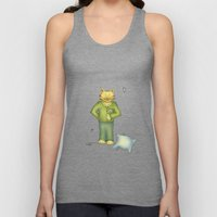 You are the cat's pajamas Unisex Tank Top