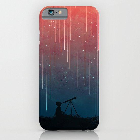 meteor rain iphone ipod case by picomodi society6. Black Bedroom Furniture Sets. Home Design Ideas