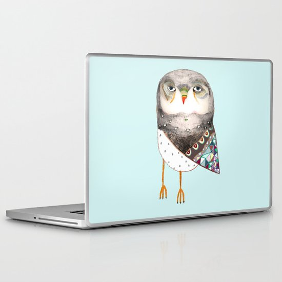 Owl by Ashley Percival Laptop & iPad Skin