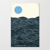 A Sea Symphony - Vaughan… Canvas Print