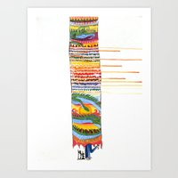 Love In The Year Of The … Art Print