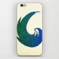 - summer wave - iPhone & iPod Skin