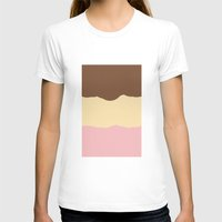 T-shirt featuring Neopolitan  by Ice Cream Theory