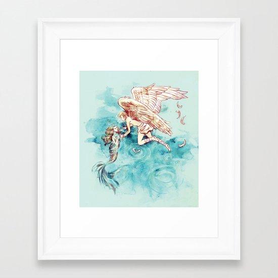 Star-cross'd Lovers Framed Art Print