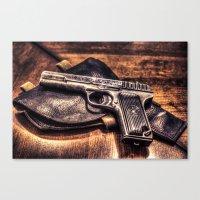 Gun HDR Canvas Print