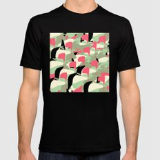 Copy and Paste III Mens Fitted Tee Black SMALL